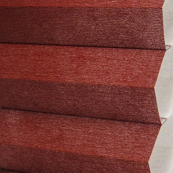 Agate Red Semi Opaque 25mm Cellular Shades Honeycomb Blinds